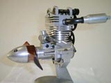 DOHC Uni-flow engines